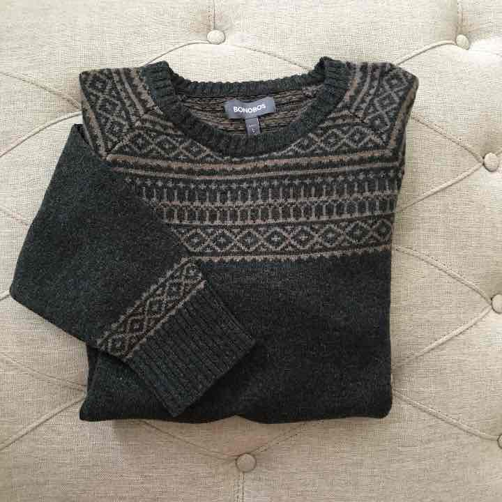 Bonobos Lambwool Sweater - Mercari: BUY & SELL THINGS YOU LOVE