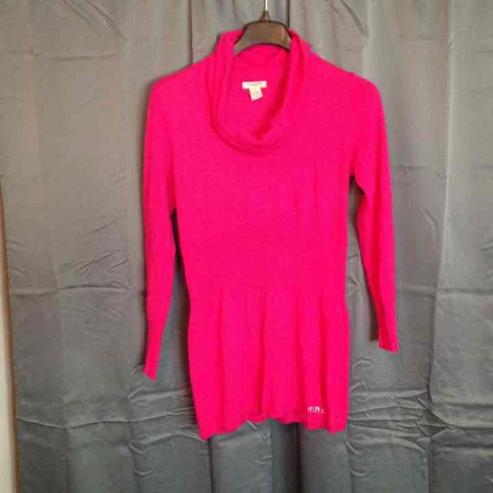 NWOT Hot Pink long Sweater/dress - Mercari: BUY & SELL THINGS YOU LOVE