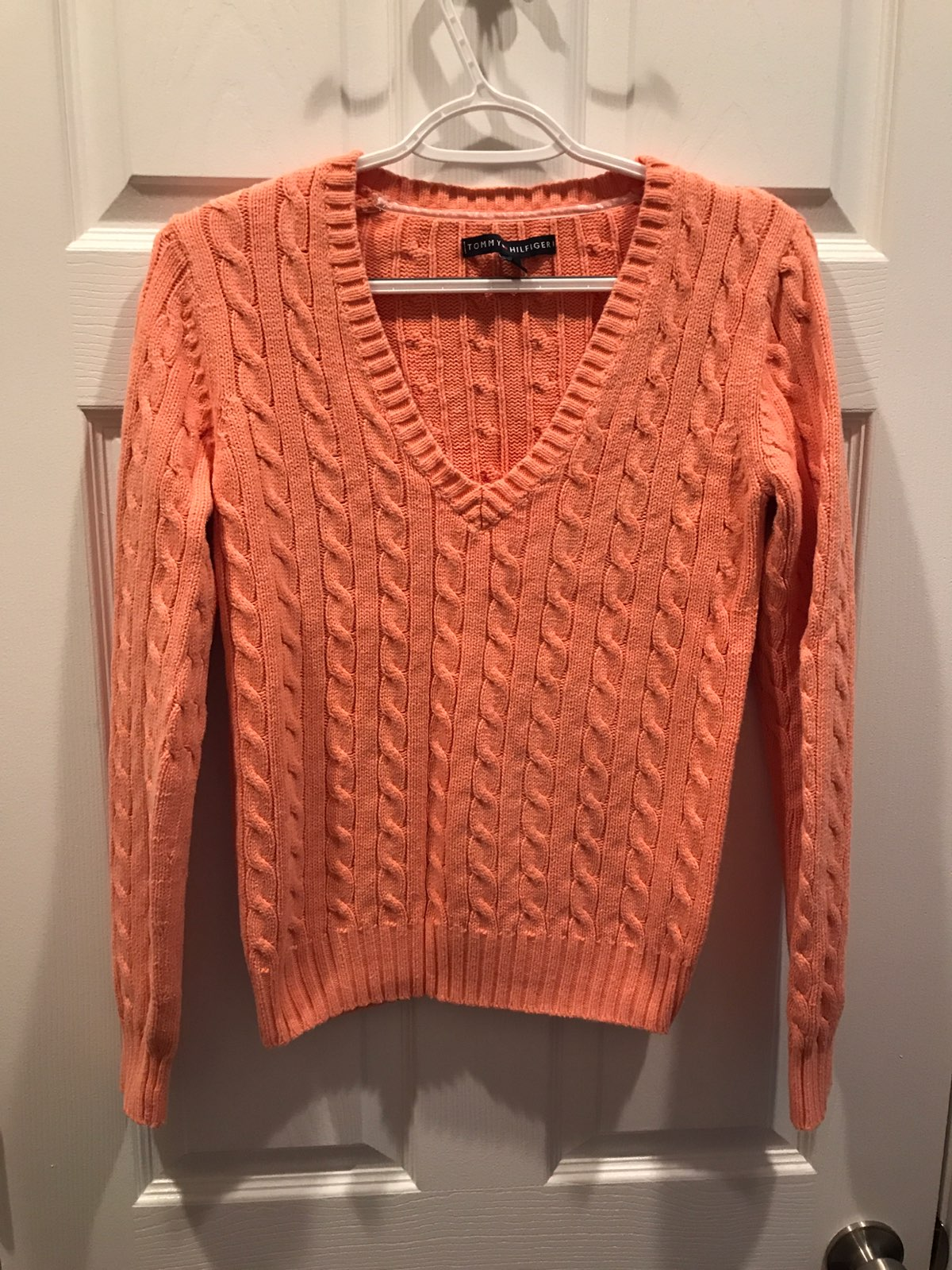 Tommy Hilfiger cable knit sweater - Mercari: BUY & SELL THINGS YOU ...
