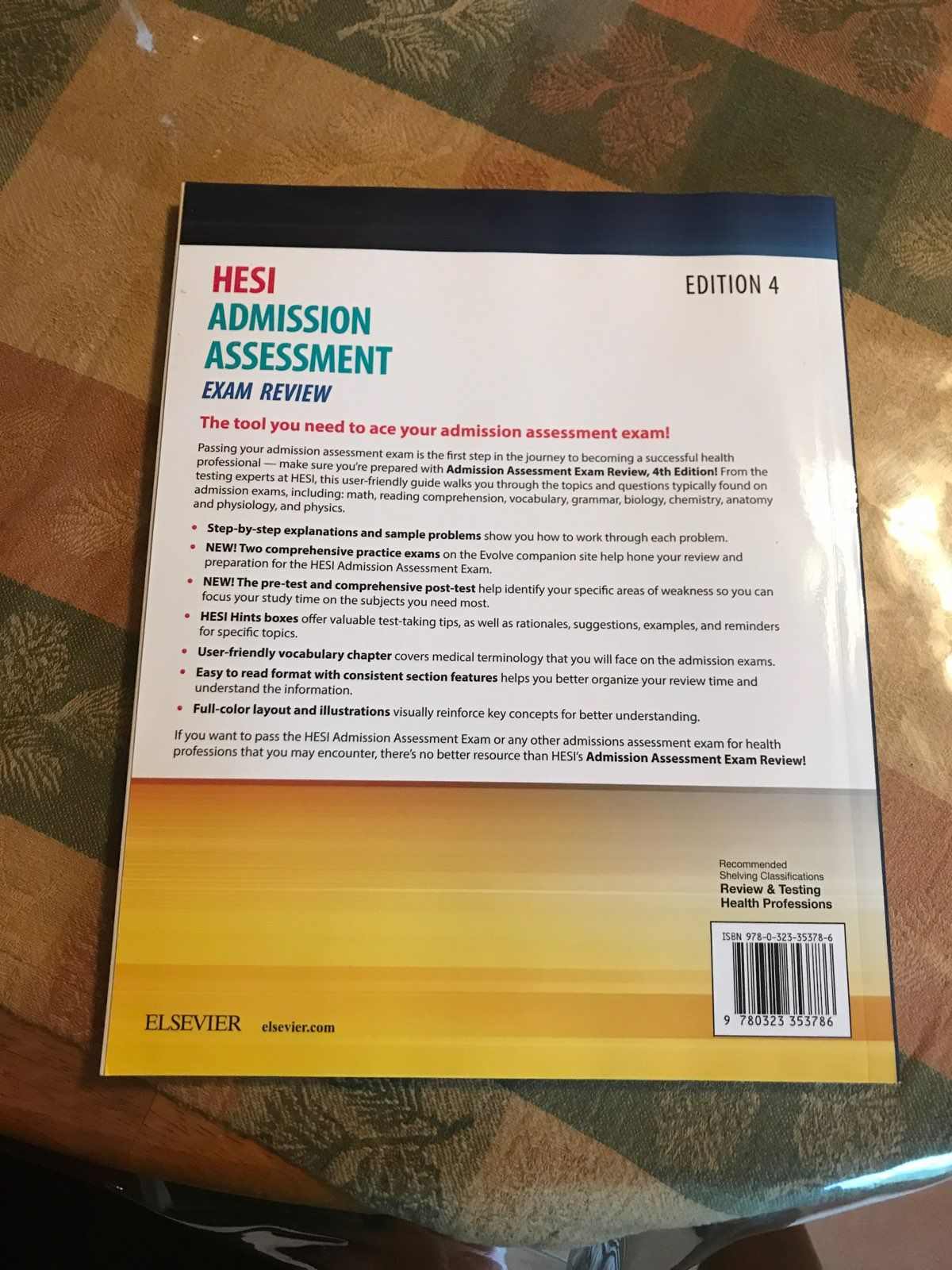 Hesi exam review book