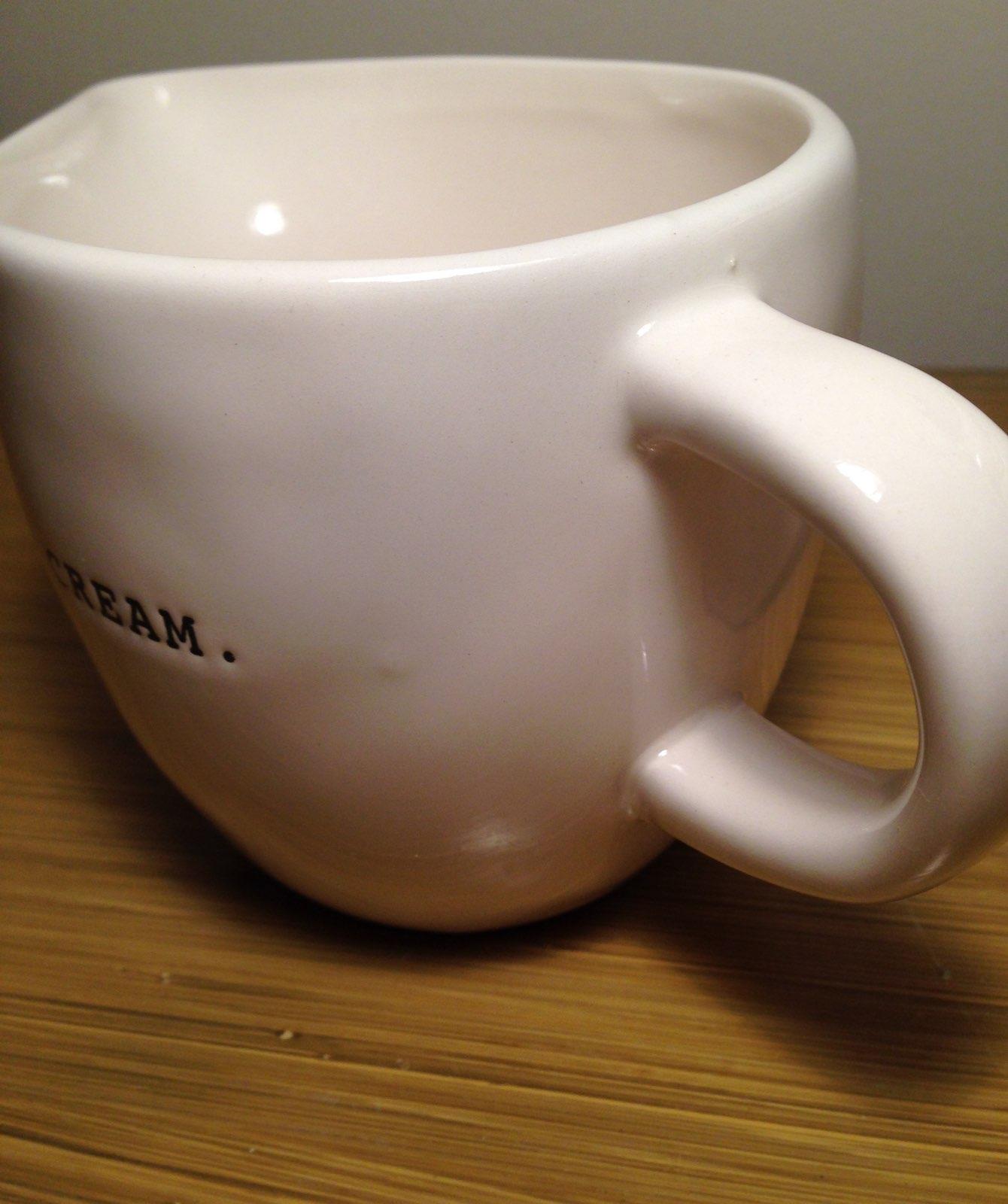 Rae Dunn Typewriter Cream Sugar Bowl