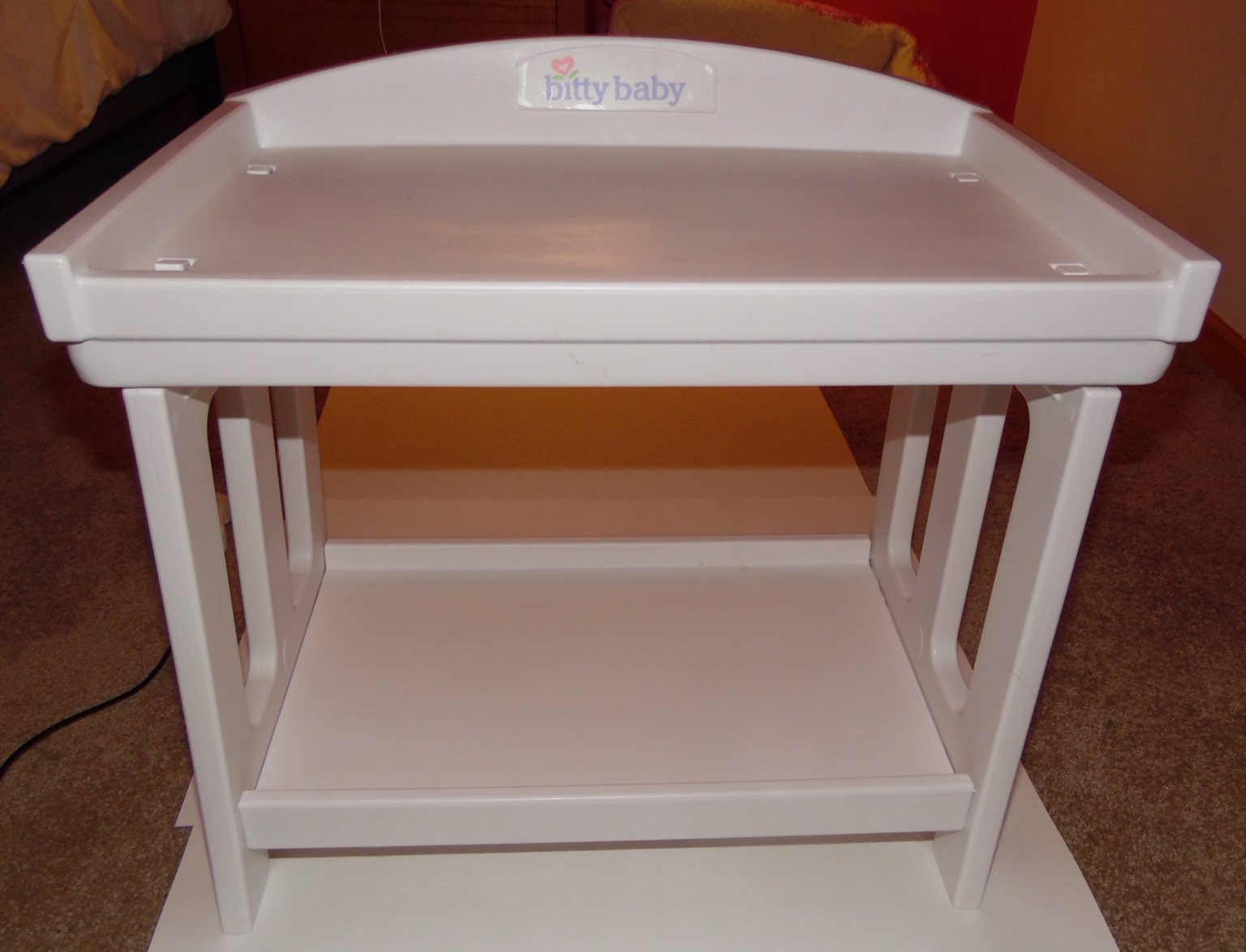 American Girl Bitty Baby Changing Table