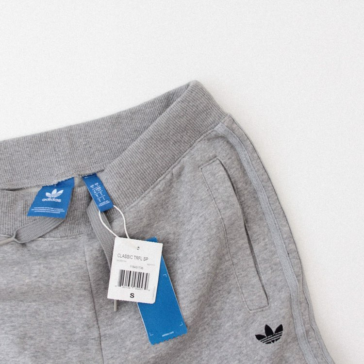 Adidas Classic Gray Jogger Pants