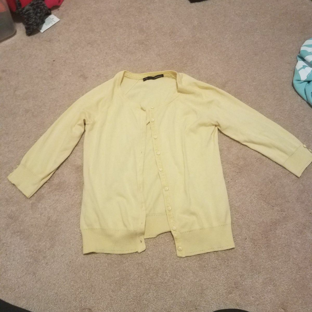 Maurices yellow cardigan small - Mercari: BUY & SELL THINGS YOU LOVE