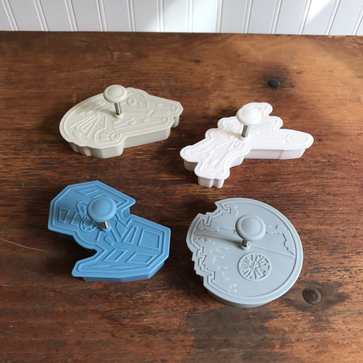 Set of 4 Star Wars Cookie Cutters