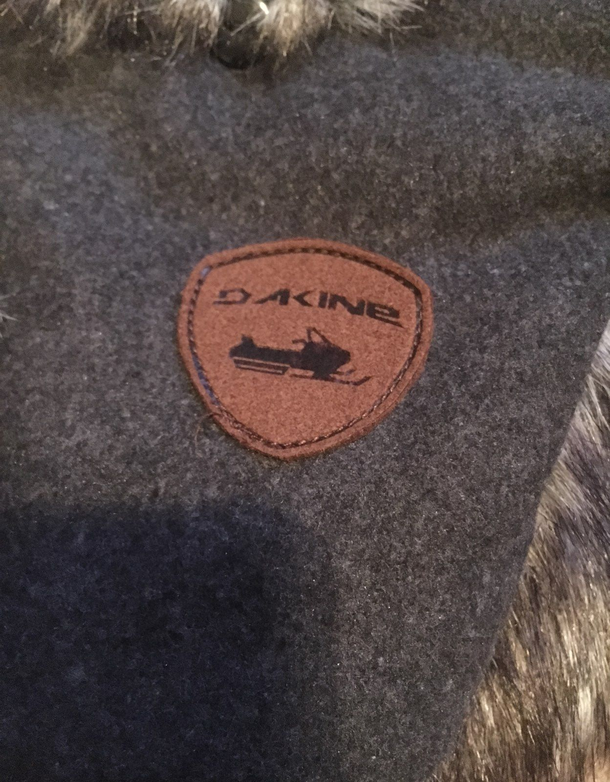 Dakine Winter Hat Fur Chinstrap Like New