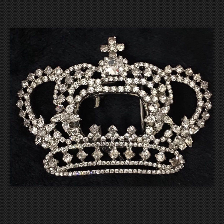 Ventage queen belt buckle