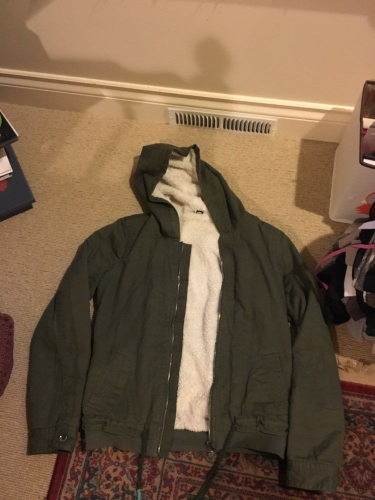 Army green roxy jacket