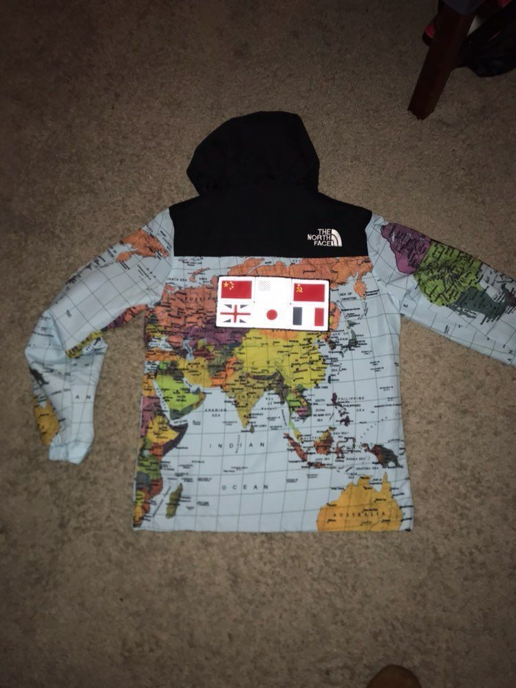 Supreme the north face map jacket mercari the selling app supreme the north face map jacket gumiabroncs Choice Image