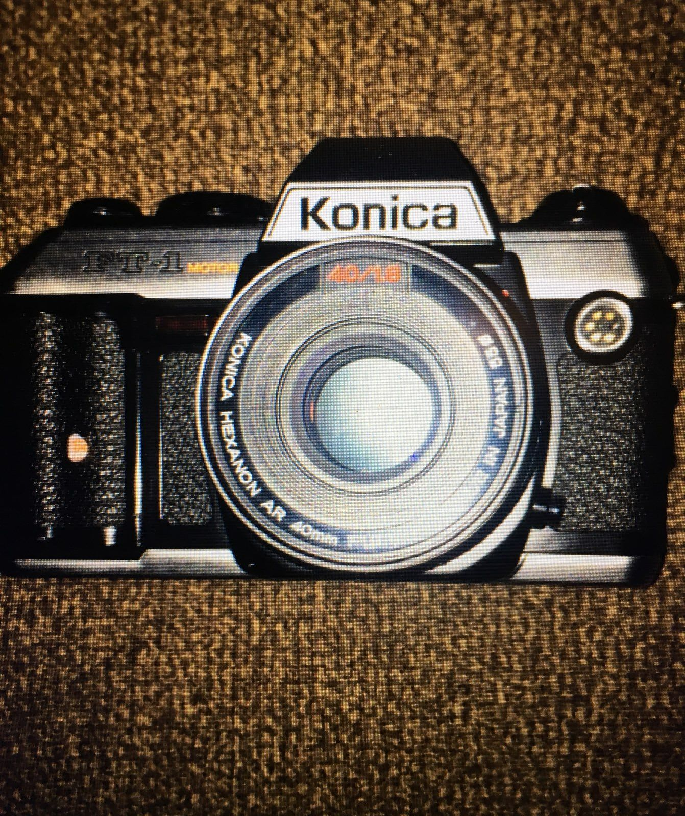 Konica FT1 Film Camera