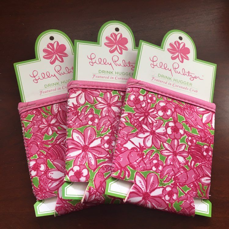 Lilly Pulitzer Drink Holders