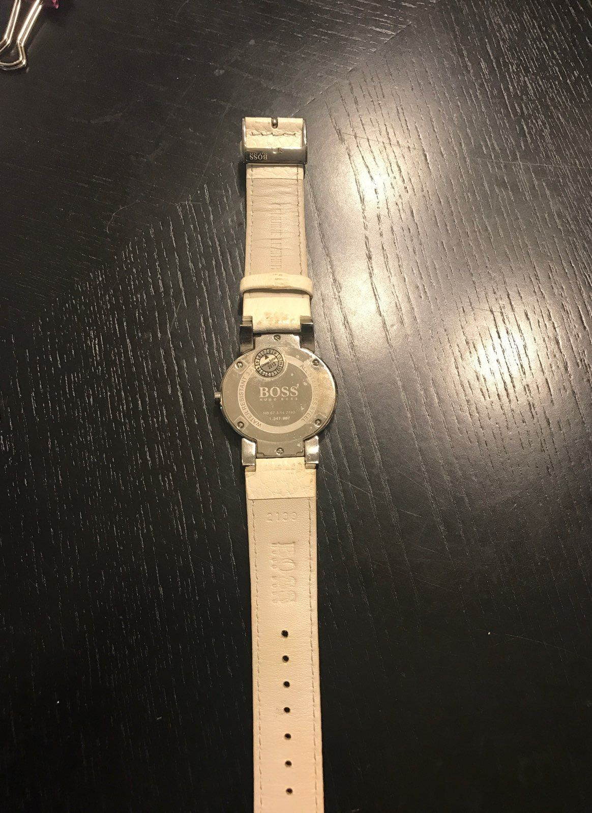 Hugo boss Mother Of Pearl Authentic Watc