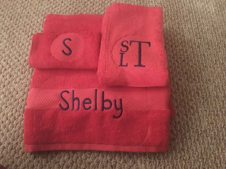Personalized Towel Sets