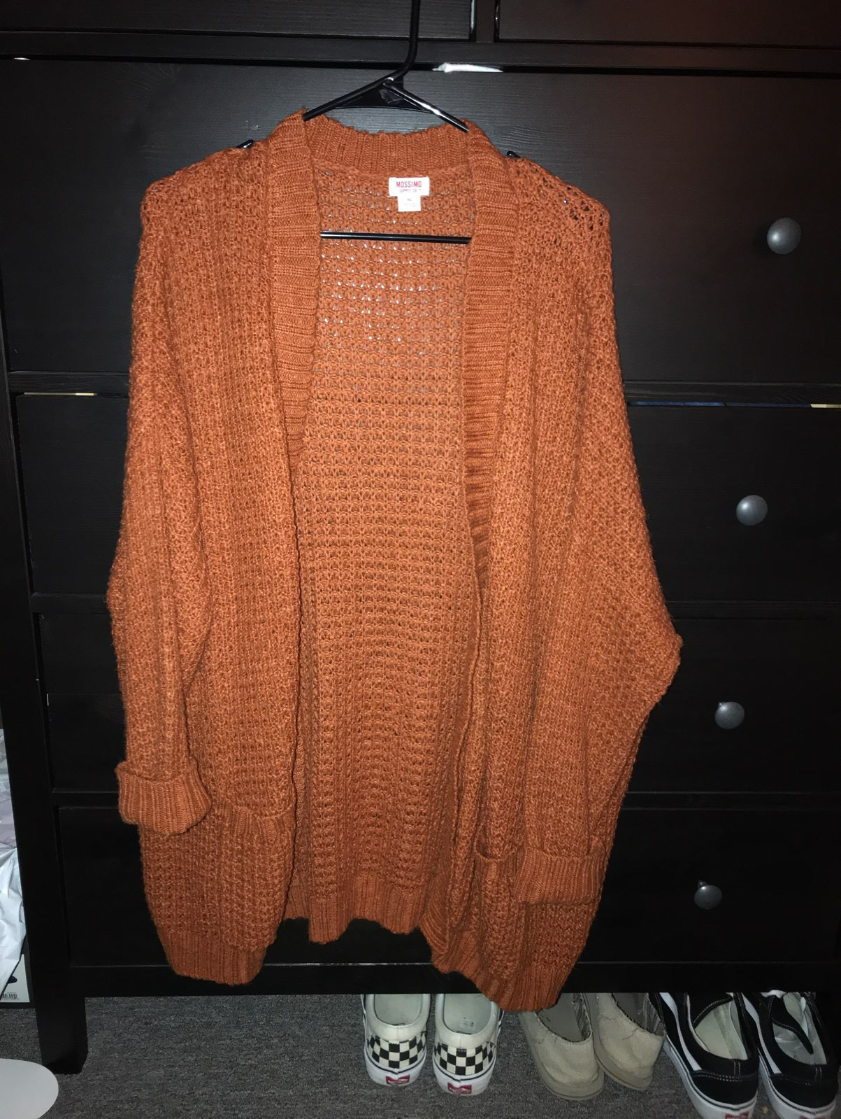 Oversized Chunky Cardigan - Mercari: BUY & SELL THINGS YOU LOVE
