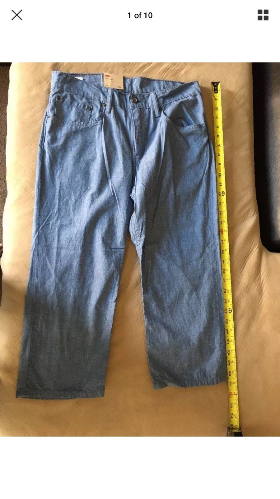 Levi's Cropped Men's Size W31L