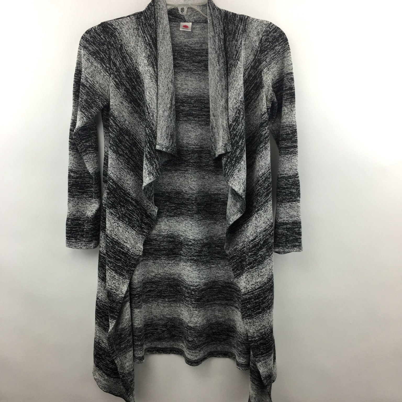 Open Front Waterfall Cardigan Girls M - Mercari: BUY & SELL THINGS ...