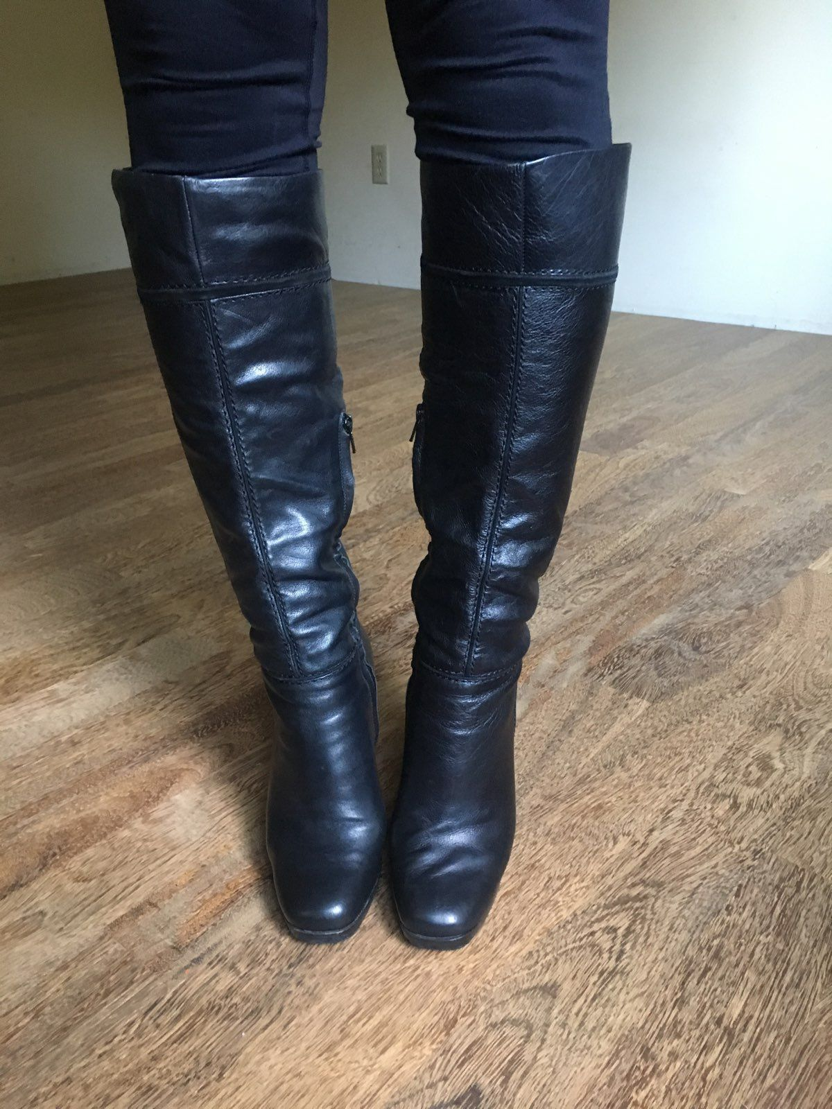 Jessica Simpson Knee High Leather Boots