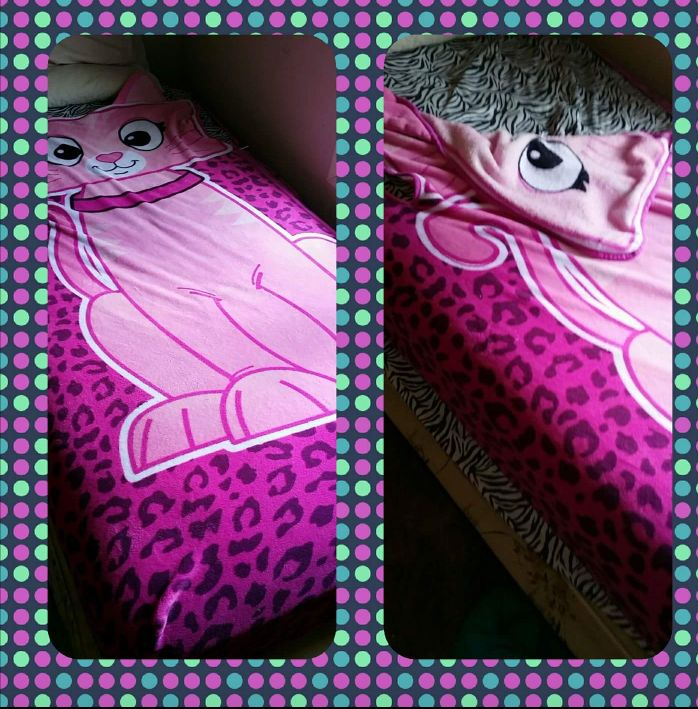 girls fitted blanket