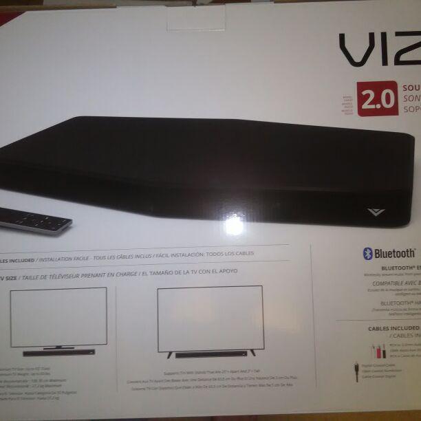 Vizio Sound Bar Ss 2520 C6 2 0