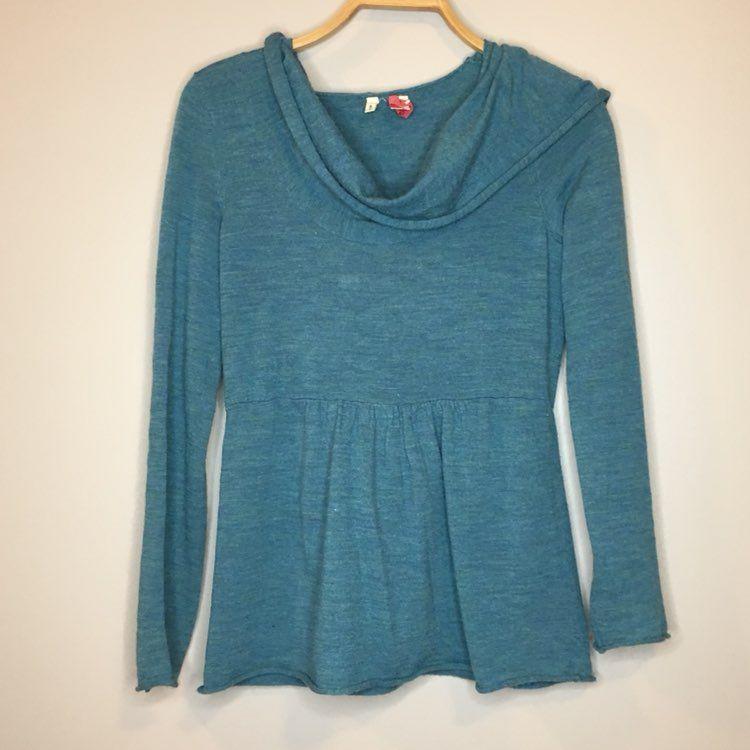 Moth Hooded Cowl Neck Sweater - Medium - Mercari: BUY & SELL ...