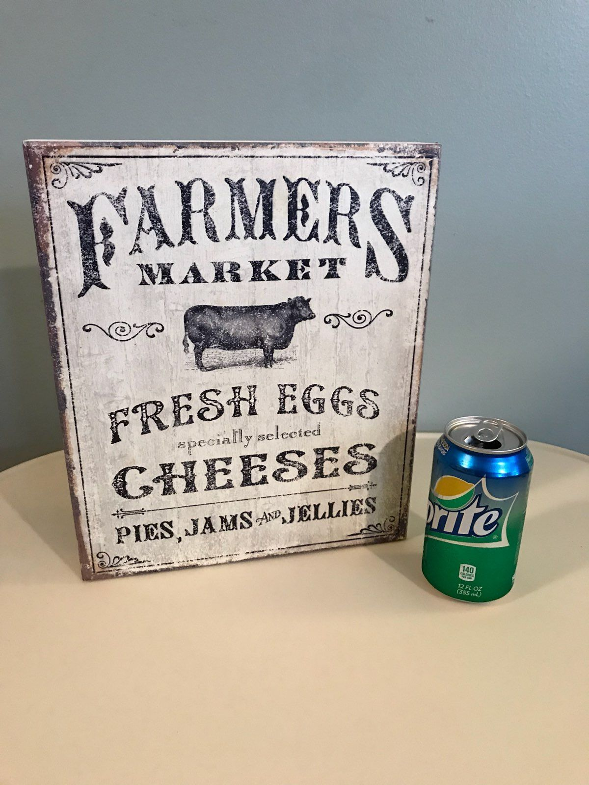 Superb FARMERS MARKET KITCHEN DECOR SIGN