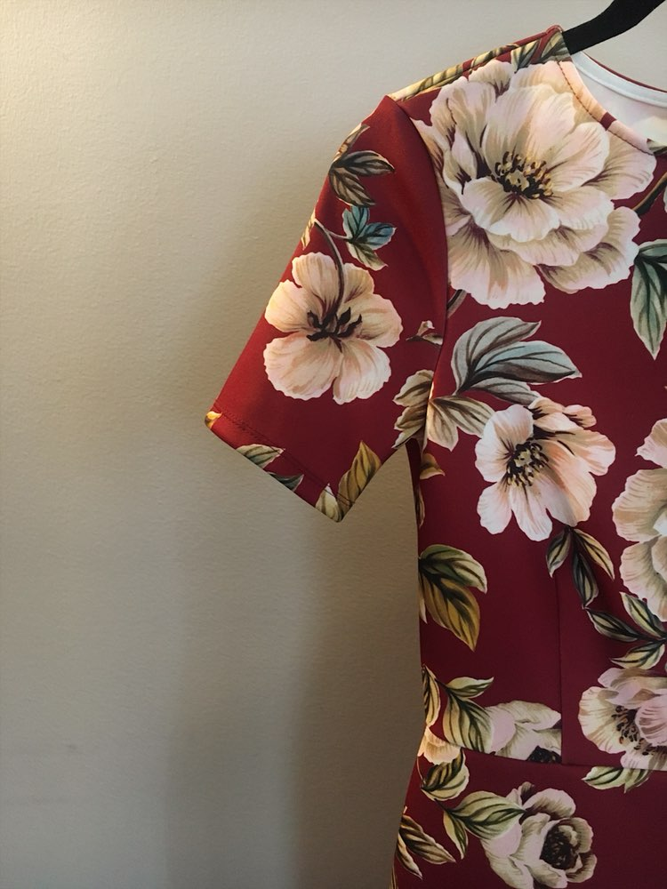 ASOS Midi Floral Dress