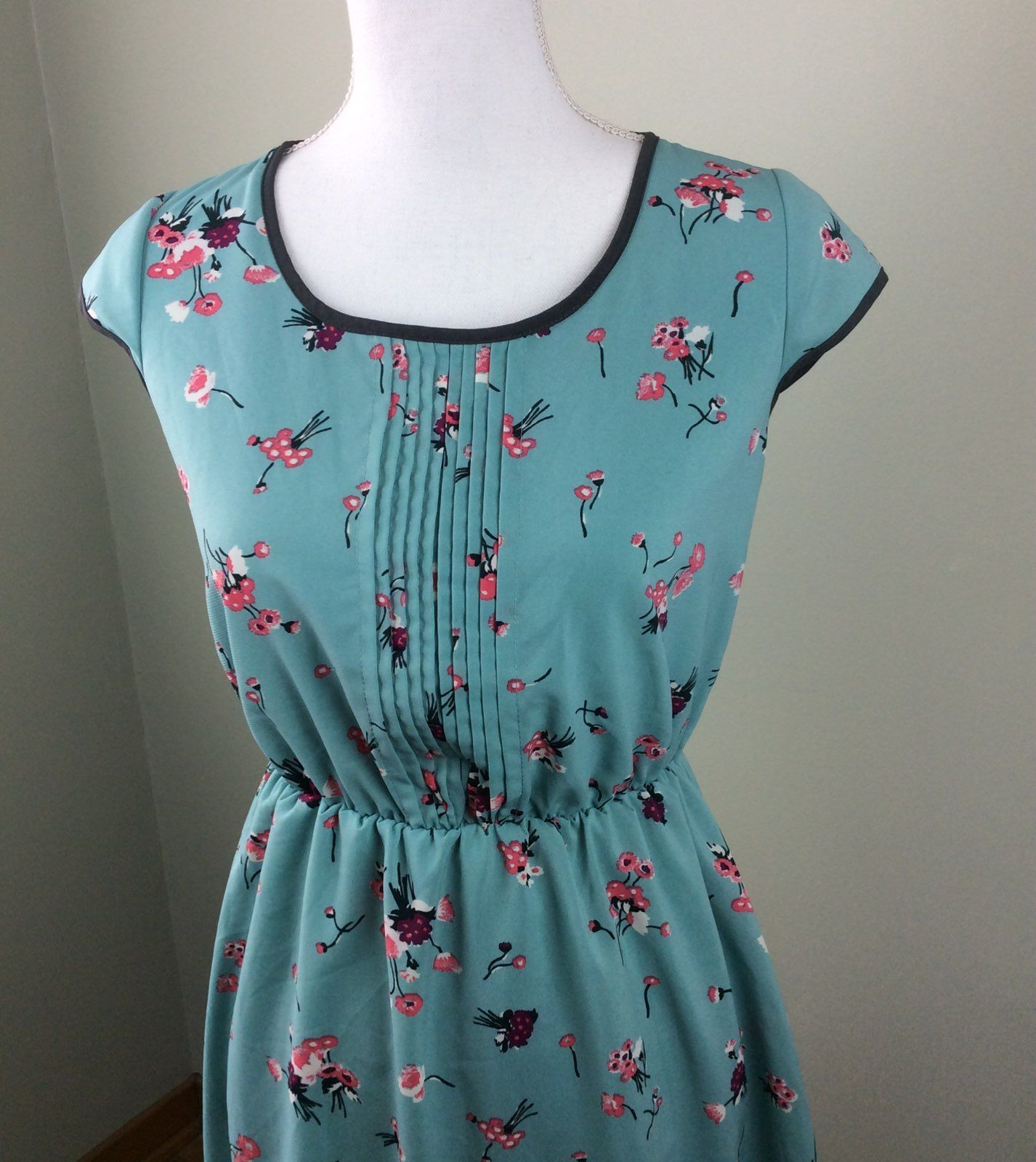 Xhileration Floral Blouson Dress