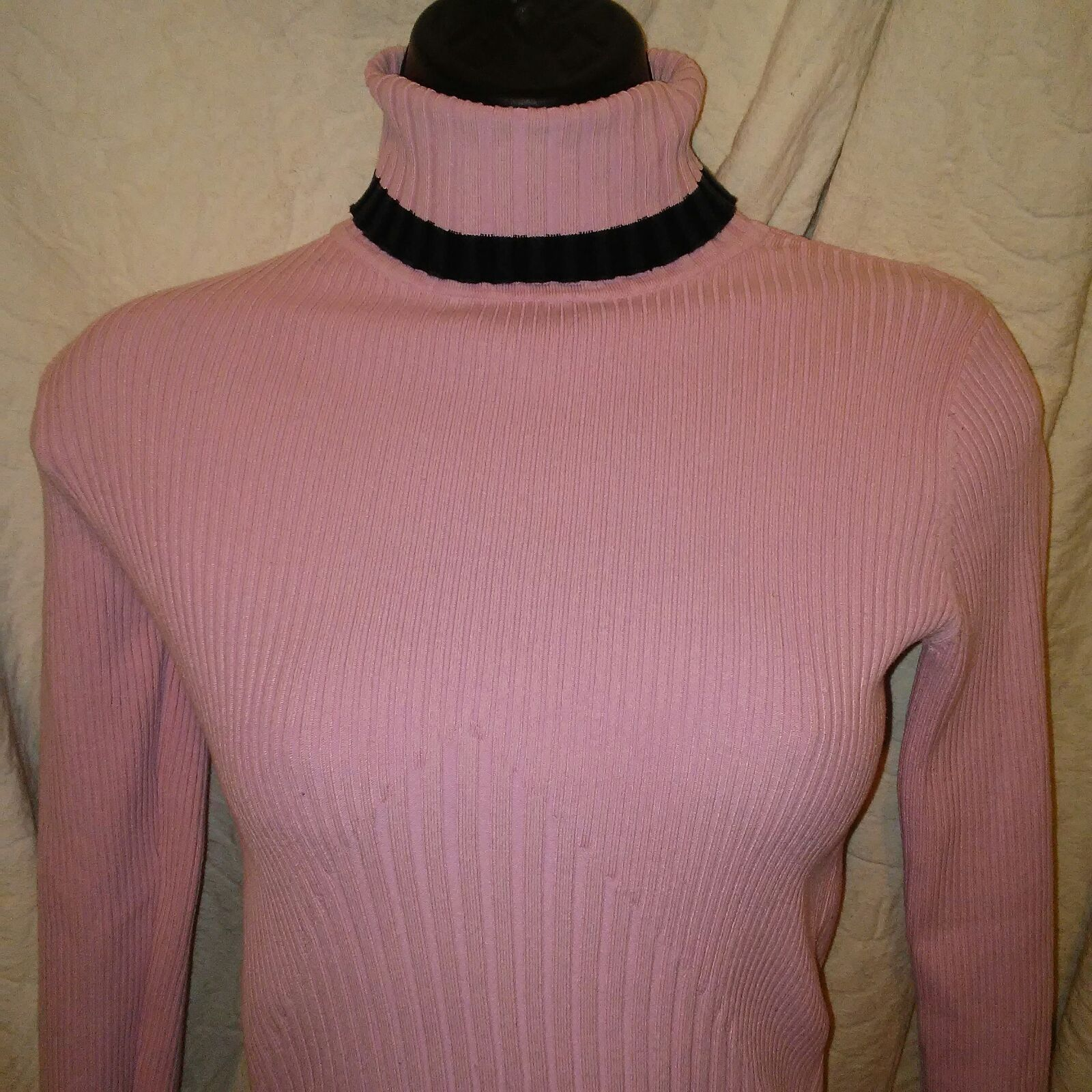 Cache Women's Pink Turtleneck Sweater Sm - Mercari: BUY & SELL ...