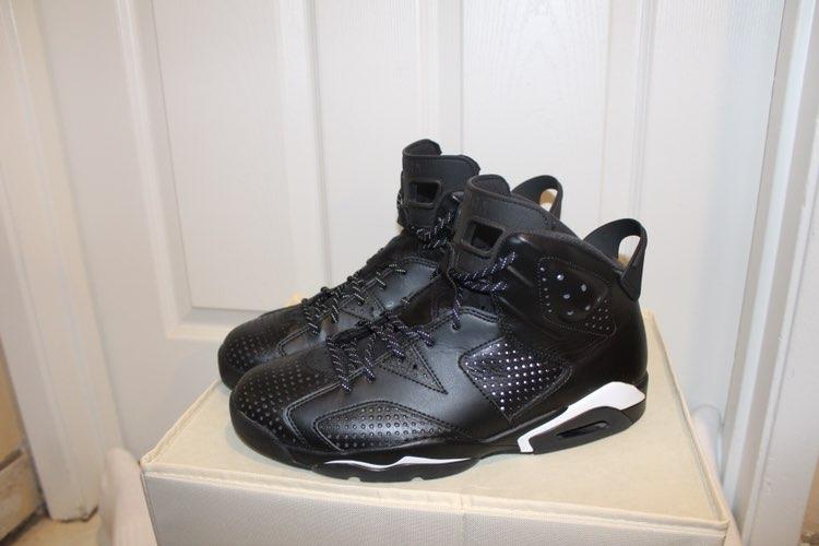 Jordan Retro 6's Black Cats