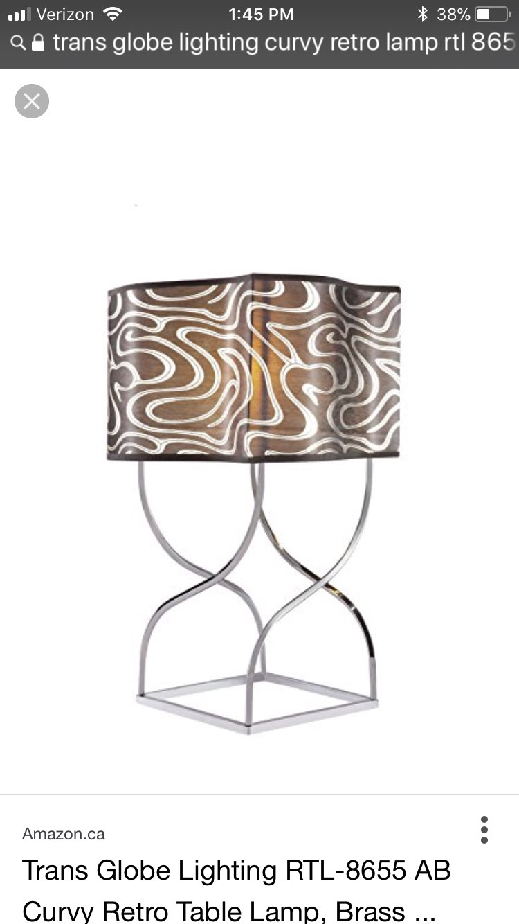 Animal print themed indoor lamp mercari buy sell things you love animal print themed indoor lamp geotapseo Gallery