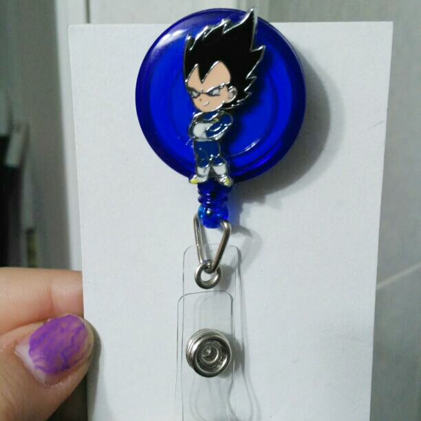 Vegeta badge reel