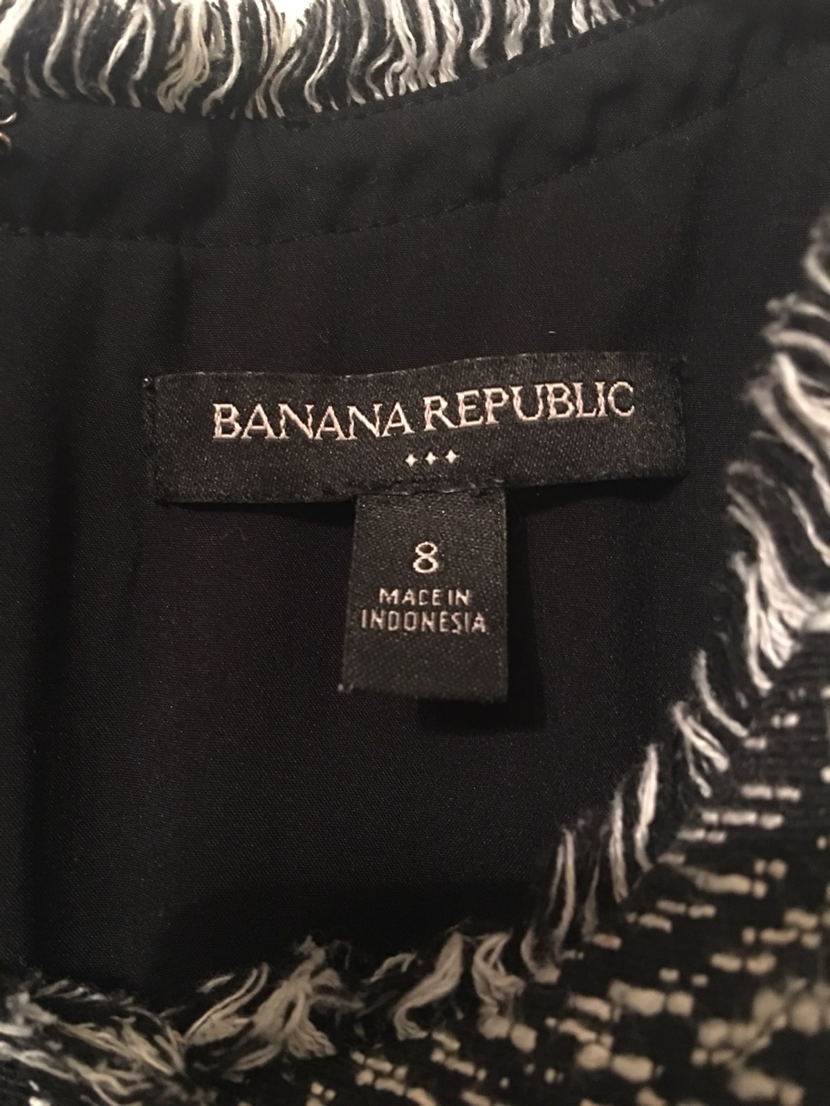 Banana Republic Tweed Sleeveless Dress