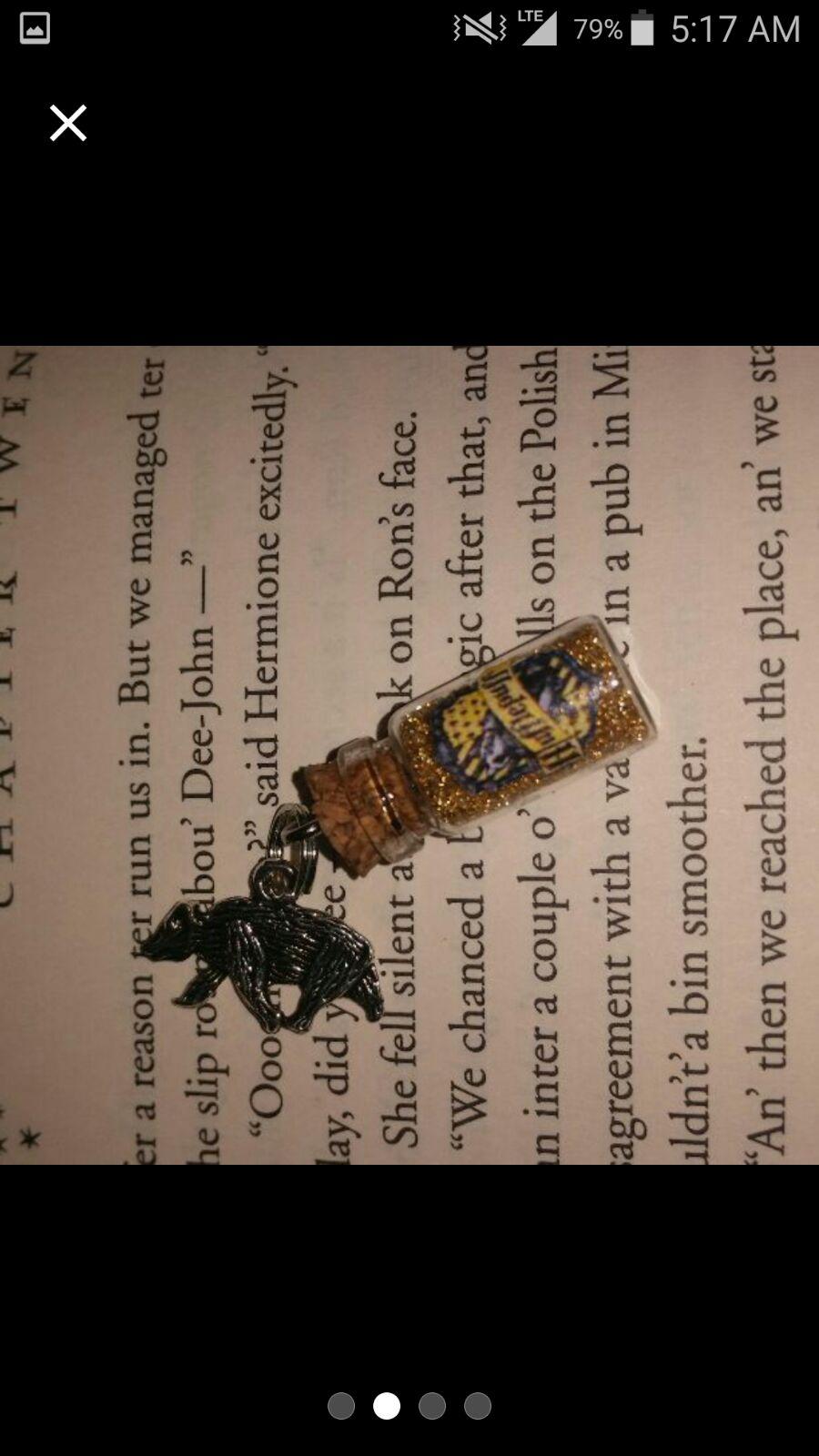 Harry Potter Inspired Hufflepuff Charm