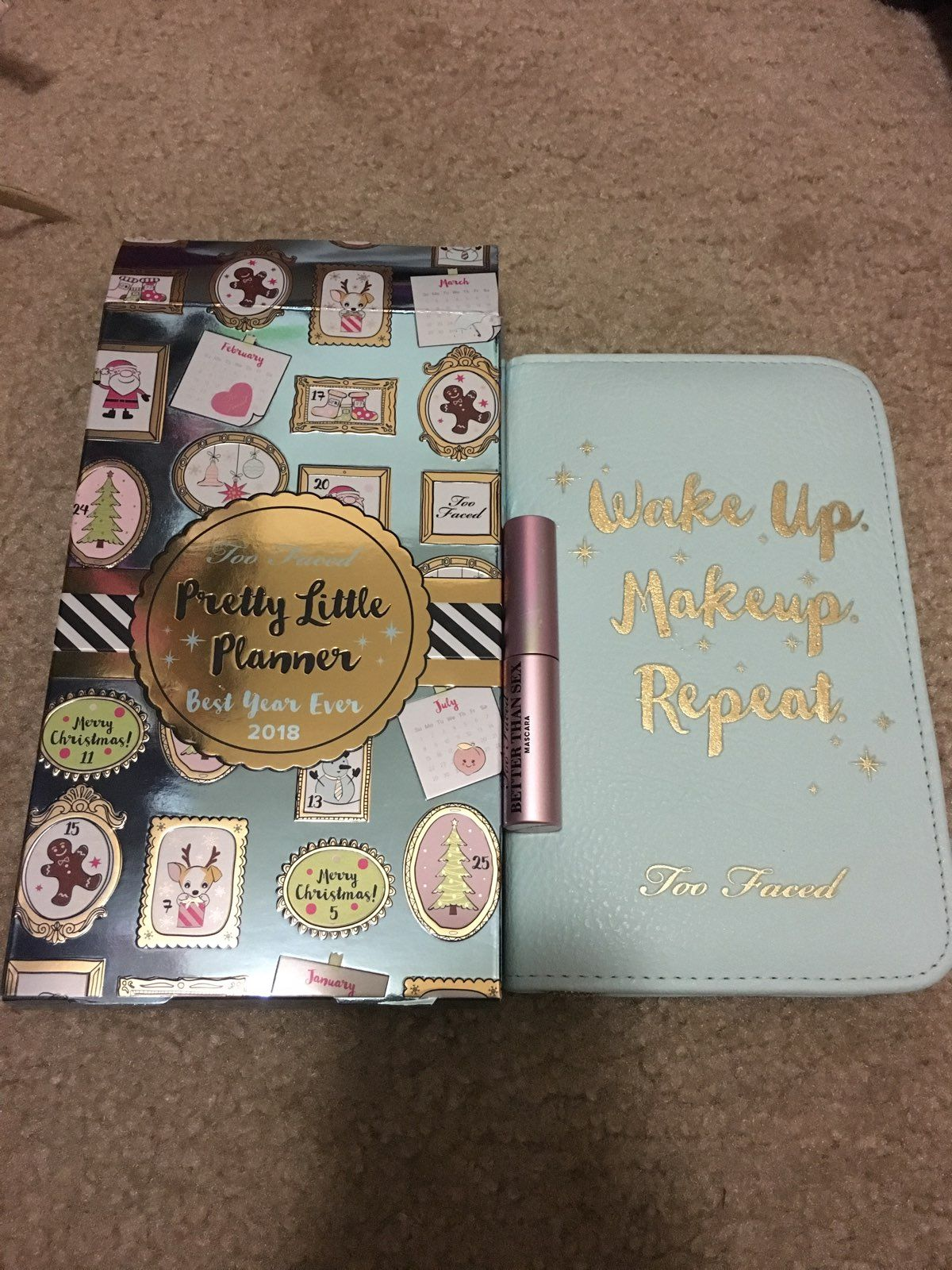 Too Faced 2018 Best Year Ever Planner - Mercari: BUY & SELL THINGS ...