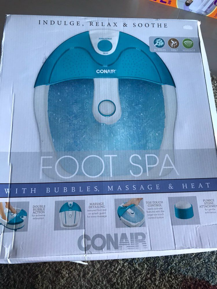 Conair Foot Spa with Bubbles, Massage - Mercari: BUY & SELL THINGS ...