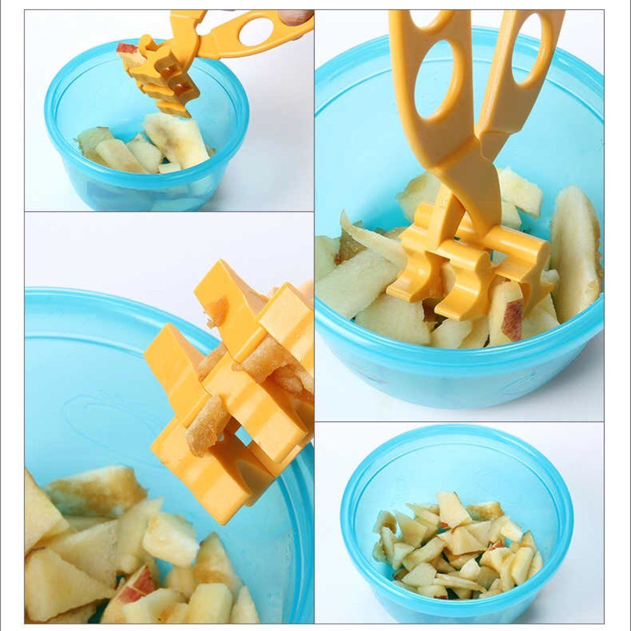 Multi Functional Baby Food Scissor