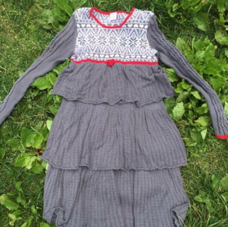 Hanna Andersson Girl 160 Fair Isle Dress - Mercari: BUY & SELL ...