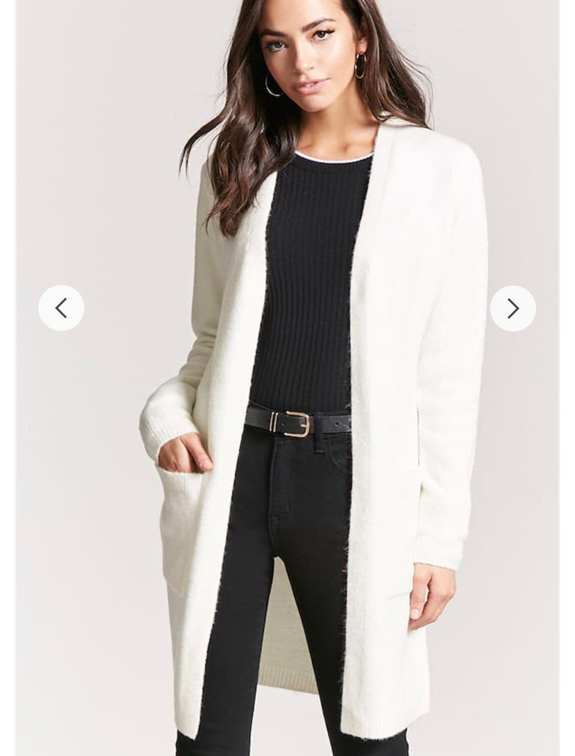 Open Front Duster Cardigan - Mercari: BUY & SELL THINGS YOU LOVE