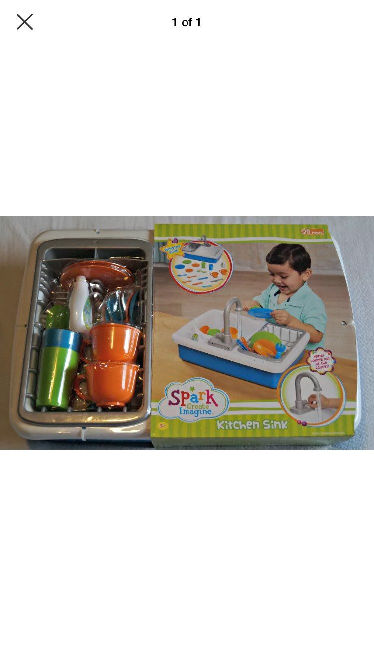 Spark Toy Kitchen Sink New - Mercari: BUY & SELL THINGS YOU LOVE