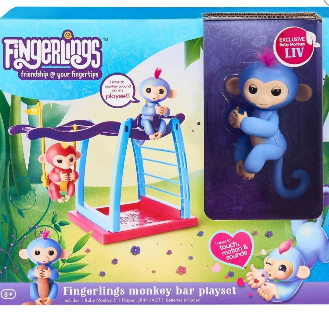 ✨Fingerling Monkey Playground with Liv✨