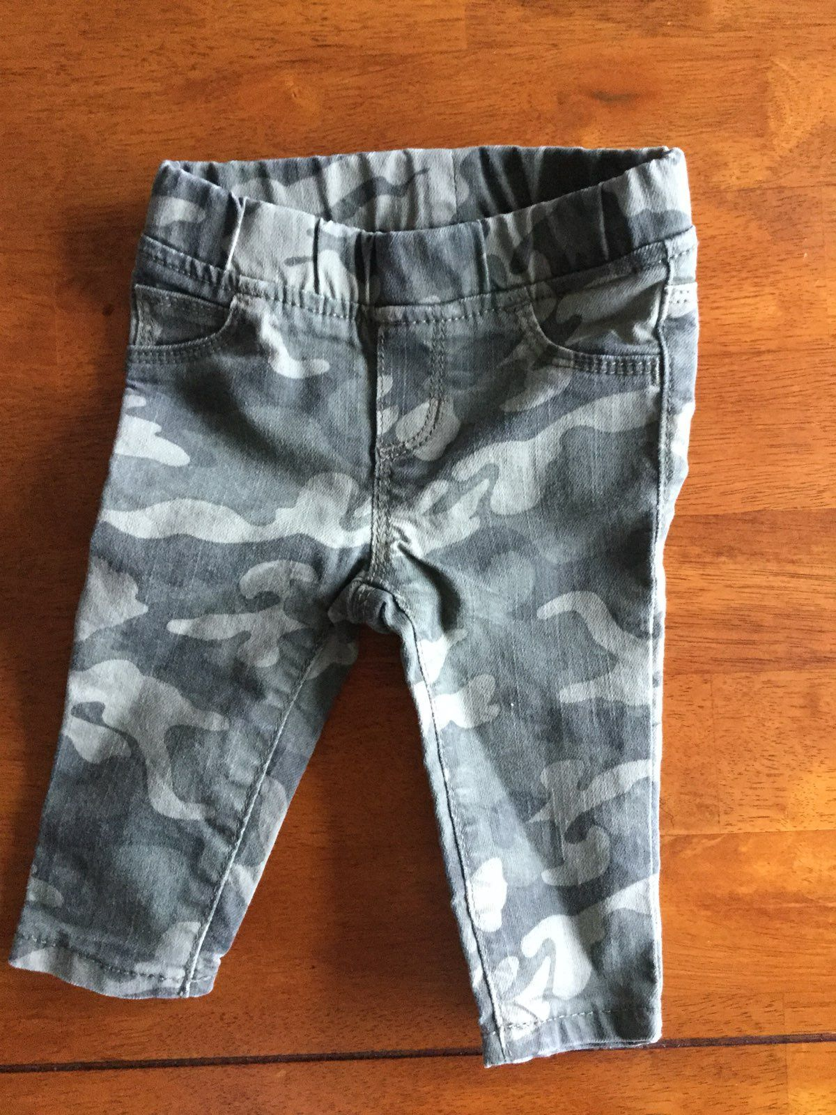 Camo Skinny Jeans 3-6 Months
