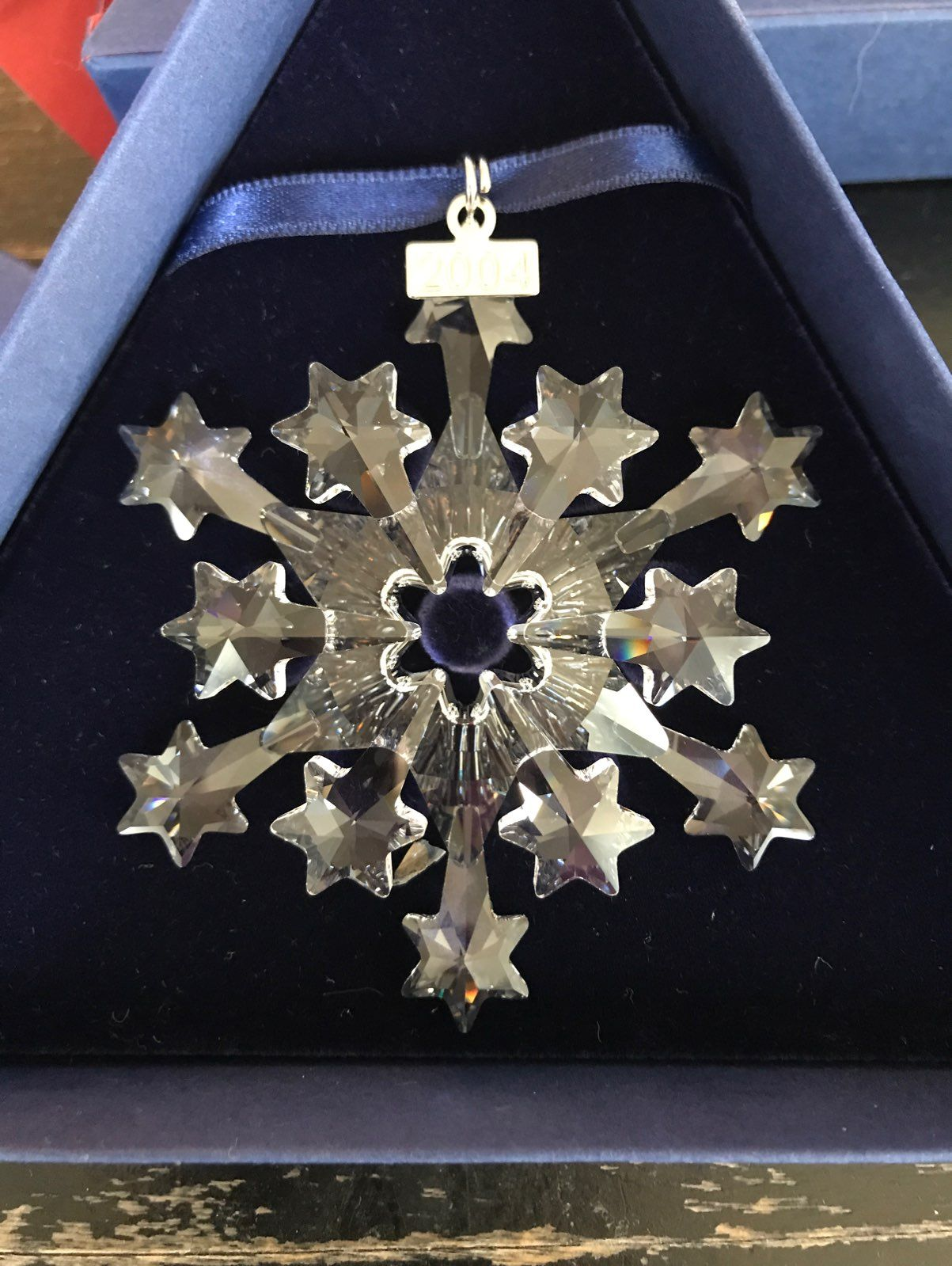 2001 Swarovski Christmas Ornament