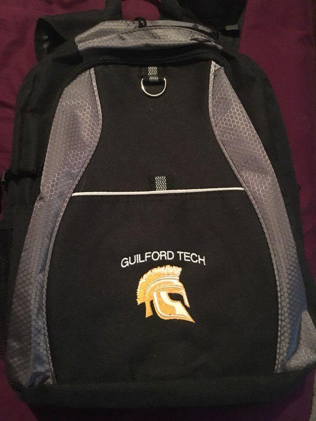 Gtcc guilford Tech Backpack