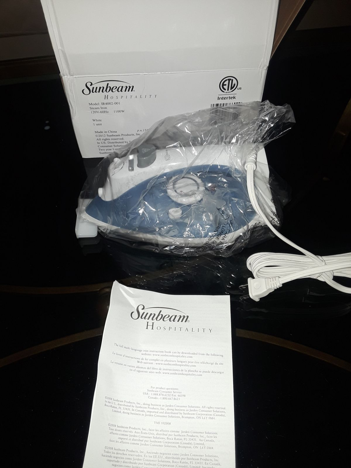 Sunbeam Steam Iron i