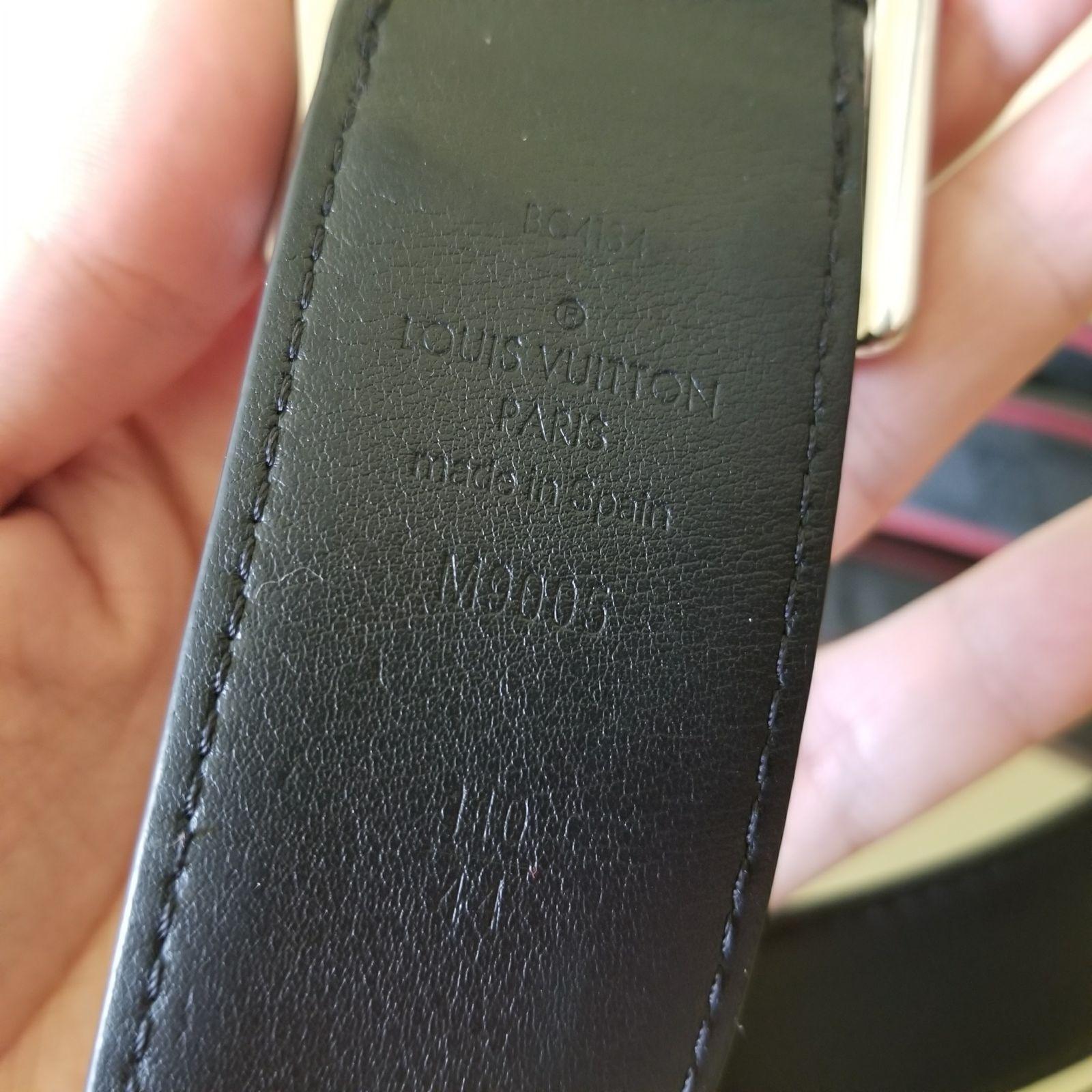 Louis Vuitton Reverso Reversible Belt