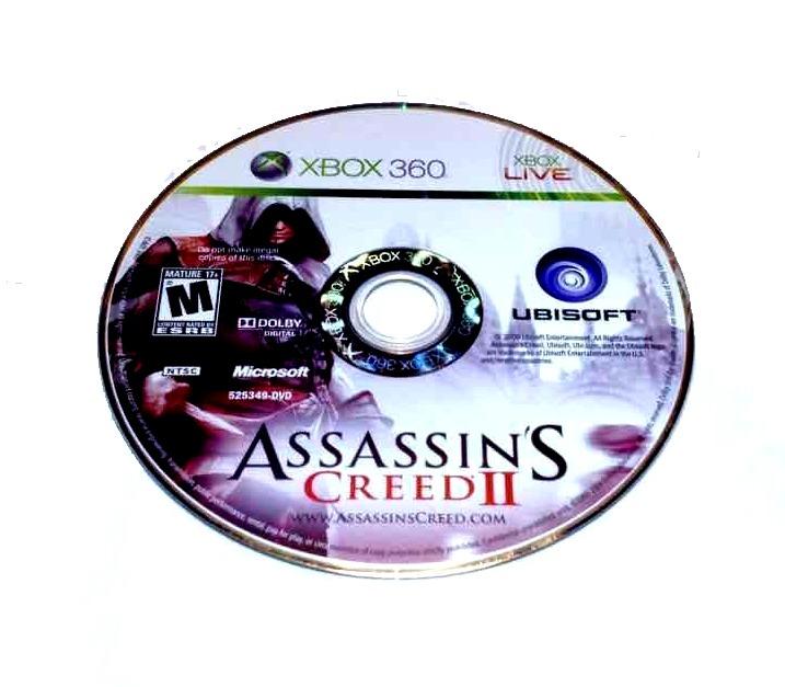 ASSASSINS CREED II Microsoft Xbox 360