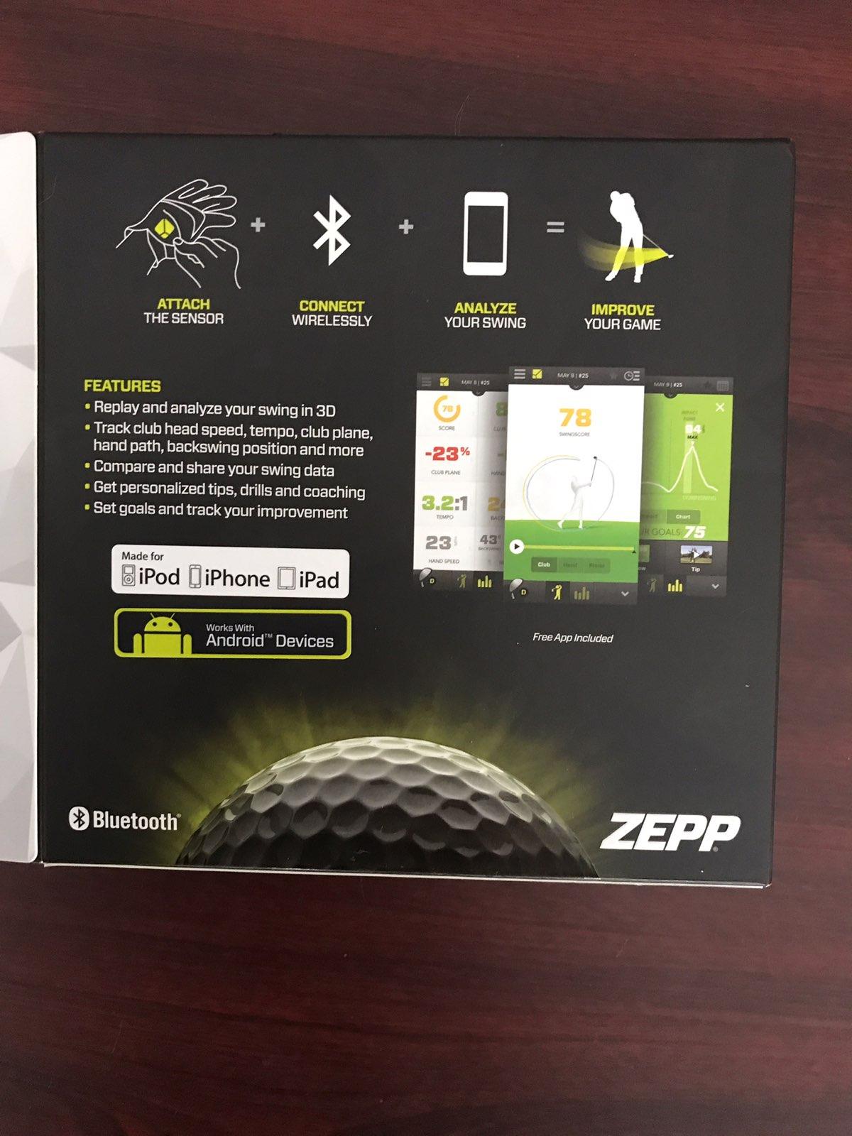 Zepp Golf swing analyzer Mercari BUY SELL THINGS YOU LOVE
