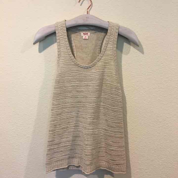 Mossimo knit tank top