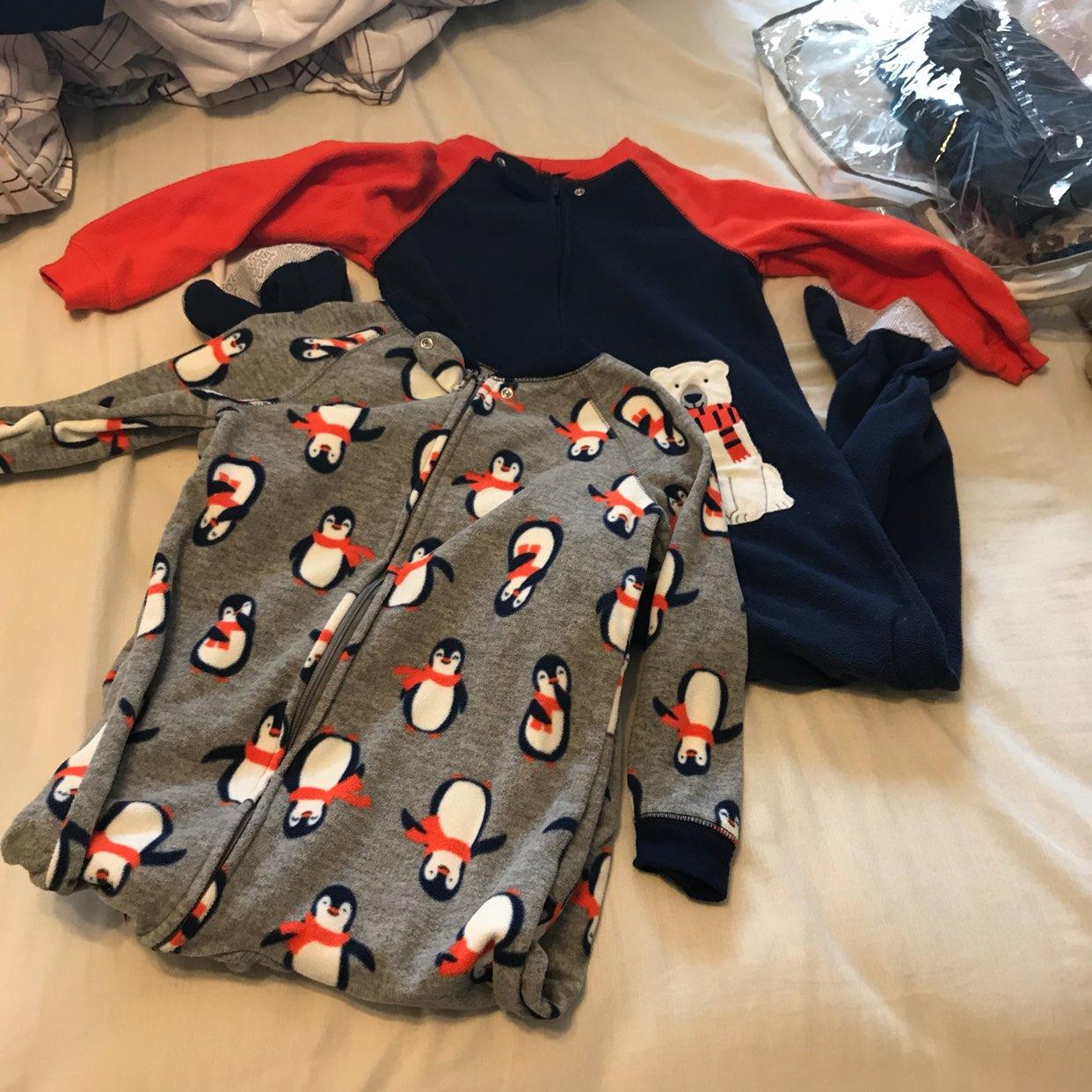 4t Footy Pajamas