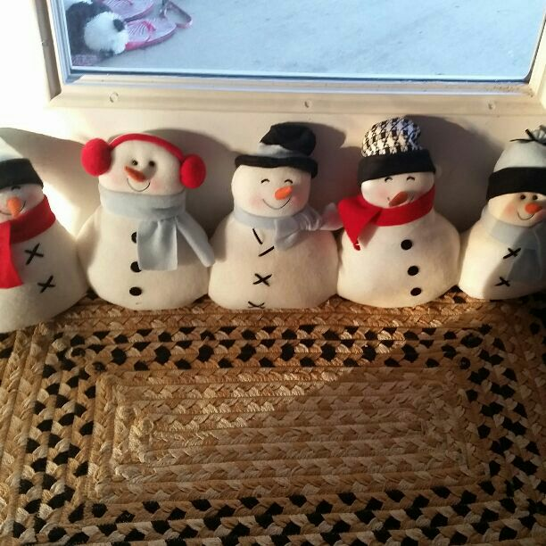 Adorable Snowman Door Stopper